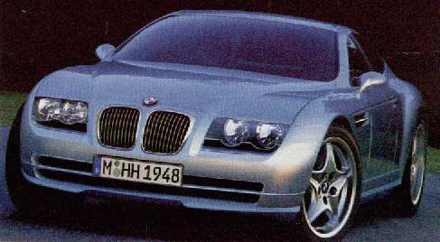 BMW six series concept
